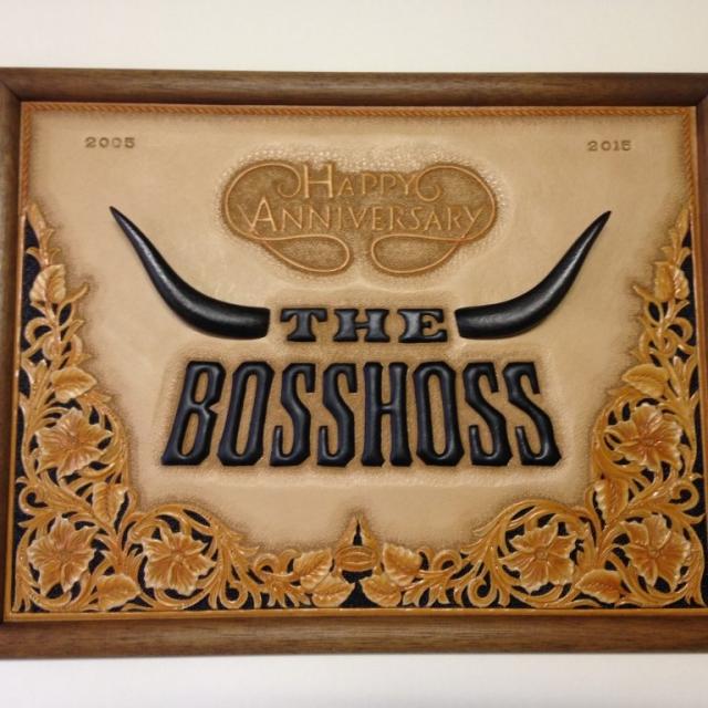 Wandbild The BossHoss