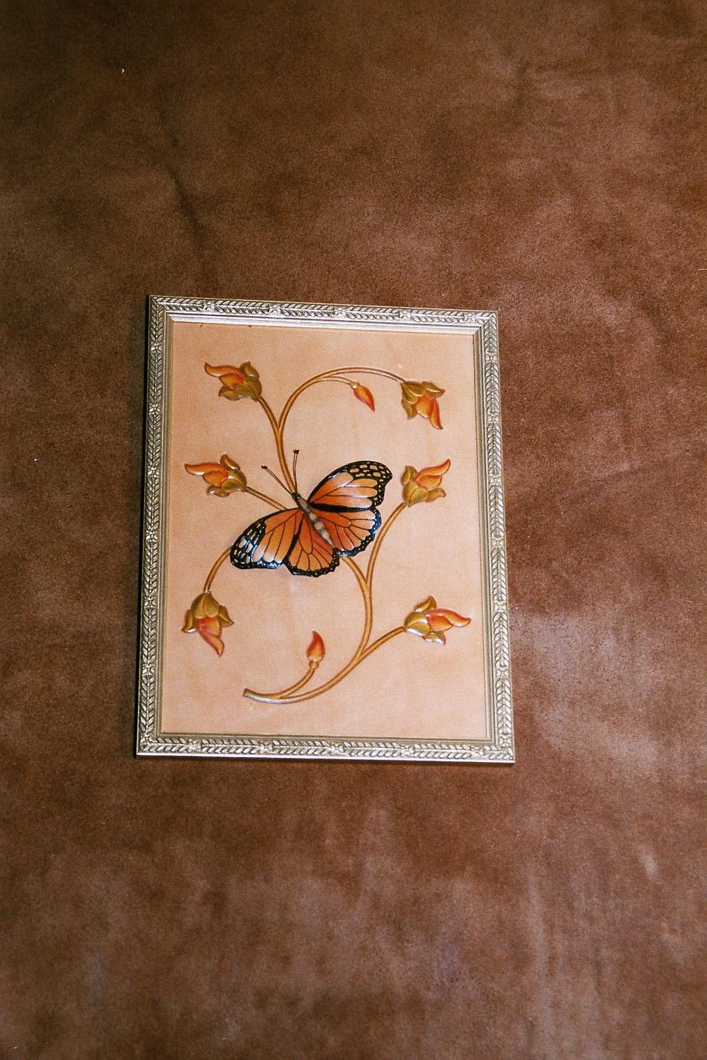 Schmetterling Wandbild